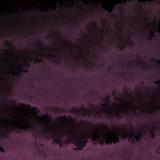 Różowy atrament i akwarela tekstury na tle białej księgi. Wycieki farby i efekty ombre. Ręcznie malowane abstrakcyjny obraz. - 262465096