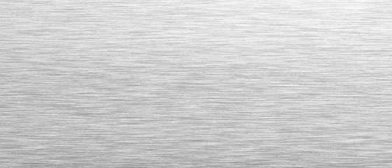 Aluminum background. Brushed metal texture or plate. Stainless steel texture close up. 3d illustration