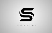 S Logo. S Letter Icon Design Vector