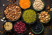 Legumes, Lentils, Chikpea And ...