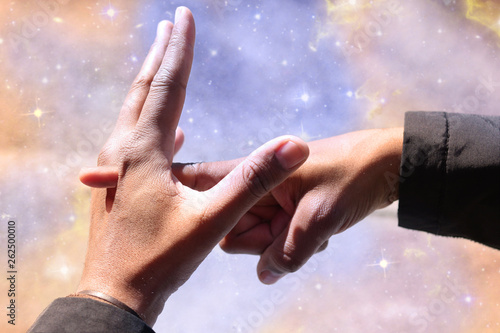 Photo  Lucid Dreaming Finger Reality Check