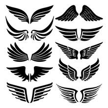 Wings Tattoo Silhouette