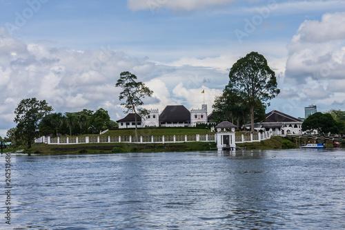 Photo  Fort Margherita and Brooke Gallery in Kuching, Sarawak.