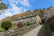 The Village Of Maentwrog In The Mountains Of Snowdonia, Wales