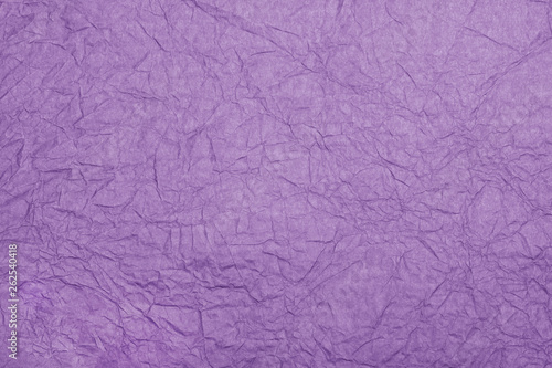 Abstract textured paper violet (lilac) color background.