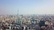 4K Flyover of Tokyo Japan