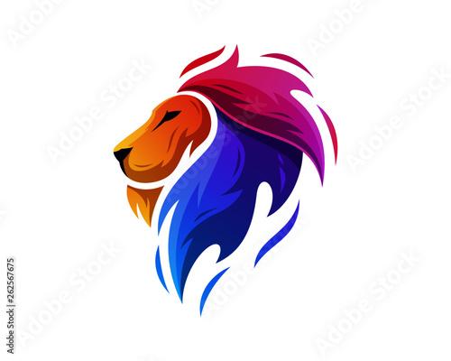 Photo  abstract, illustration, logo, symbol, sport, team, mascot,  head, emblem, animal