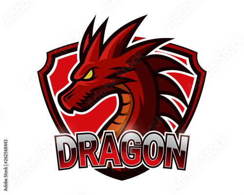 Fotografie, Tablou  abstract, illustration, logo, symbol, sport, team, mascot,  head, emblem, animal