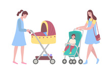 Happy Mothers Vector, Woman Wi...