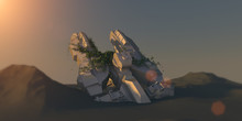 Spacecraft Wreck On The Dead P...