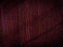 Texture Of Dark Burgundy Old Rough Wood. Mahogany Abstract Background For Design. Vintage Retro