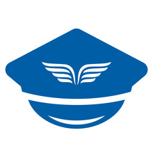 Aviation Uniform Hat Icon