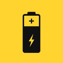 Battery Vector Pictogram