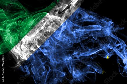Fotografija  Mato Grosso do Sul smoke flag, states in Brazil