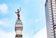 Victory Statue Of Soldiers' And Sailors' Monument