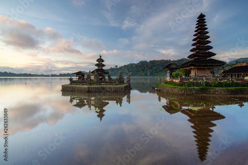 Aluminium Prints Indonesia Pura Ulun Danu Bratan Temple. Bali, indonesia.