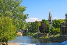 Pastoral Scene In Bath, Englan...