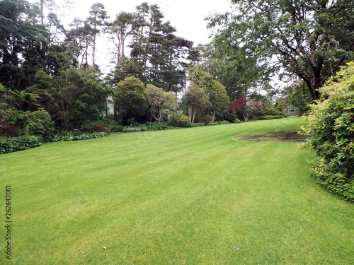 Aluminium Prints Garden Lawn and trees in Co. Antrim Northern Ireland