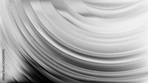 Papiers peints Tunnel Abstract Grey Curve Background Vector Graphic