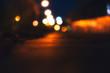 The blurred glows