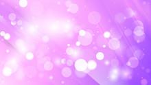 Abstract Purple Defocused Background