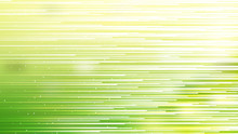 Green Yellow And White Abstract Horizontal Lines Background
