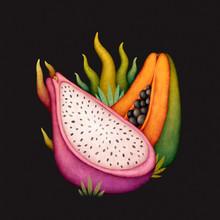 Exotic Fruits. Tropical Fruits...