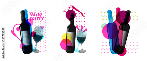 Fotomural  Idea for wine event