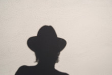 Shadow Of Awoman With Hat