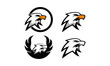logo set eagle