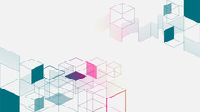 Colorful Isometric Geometric A...