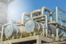Heat Exchanger And Column, Heat Exchanger Gas Separation Plant.