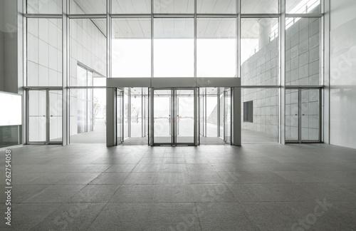 Cuadros en Lienzo Entrance hall and empty floor tile, interior space