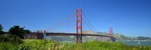 Golden Gate Bridge In San Francisco From May 2, 2017, California USA