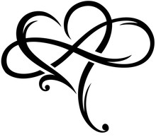 Infinity Sign Infinite Love Unendliche Liebe Herz