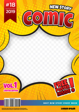 Comic Book Page Template Desig...
