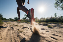 Sport Running Man In Cross Cou...