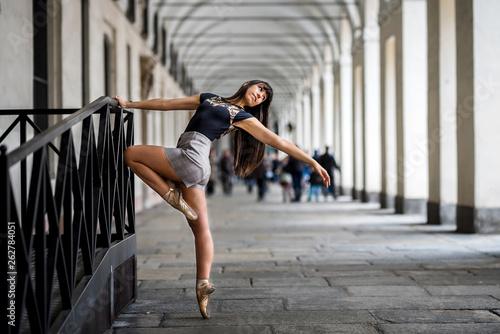 Fototapety, obrazy: Ballerina torino