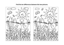 Find The Ten Differences Pictu...