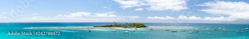 Canvas Prints Ocean Panorama ilet du Gosier Grande Terre Guadeloupe France