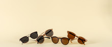 Wooden Sunglasses Of Different...