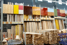 Store With Variety Of Timber F...