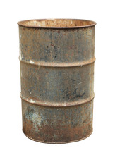 Rusty Oil Barrel (with Clippin...