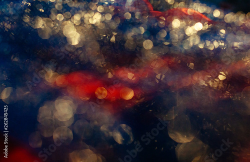 Photo sur Toile Les Textures glare reflection blur