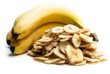 Homemade Dehydrated Banana Chi...