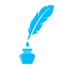 Quill Pen Vector Icon