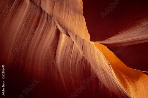 Foto auf AluDibond Antilope Stunning scenery at Upper Antelope Canyon - travel photography