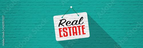 Fototapeta Real estate obraz na płótnie