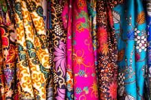 Colorful Sarongs And Cloth