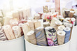 canvas print picture - Rolls of wallpaper